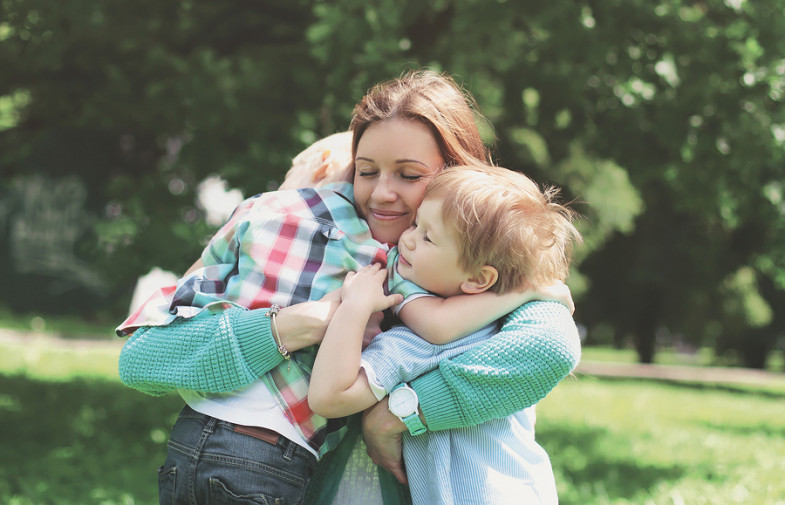 """Sono """"solo"""" una mamma a tempo pieno"""