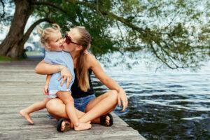vacanze al lago con i bambini