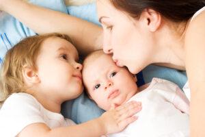 La mia vita con due figli piccoli è più facile di quel che sembra
