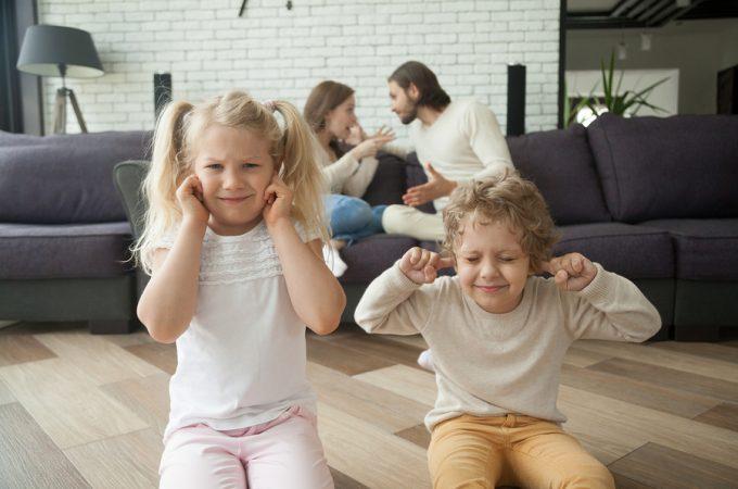 genitori separati figli