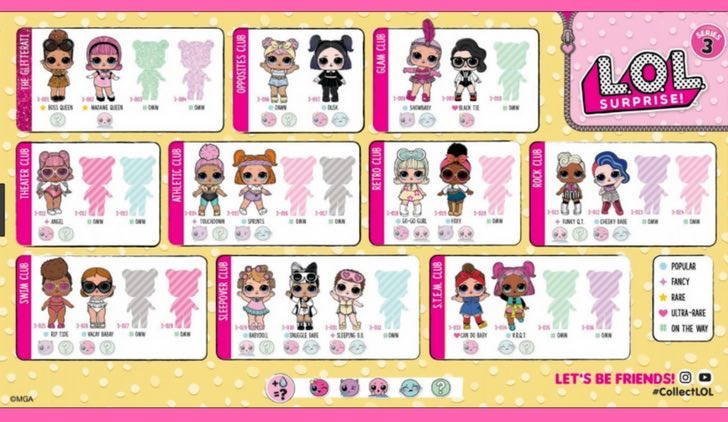 L.O.L SURPRISE serie 3 - Confetti POP - wave 1