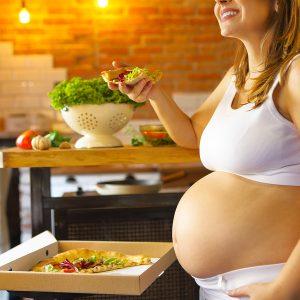 pizza in gravidanza