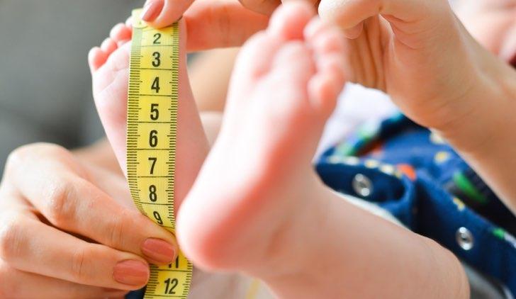 misure altezza neonato