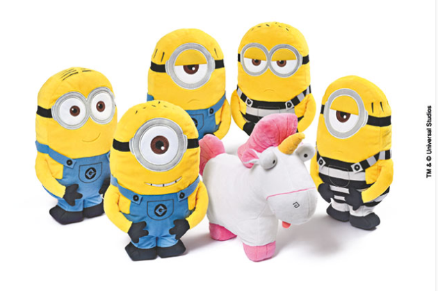 minions peluches esselunga