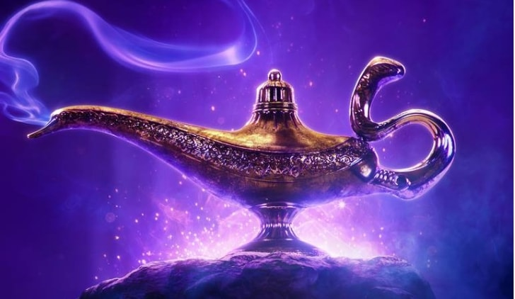 Aladdin official poster credits Disney