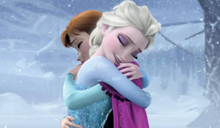 Frozen - Il regno di ghiaccio credits Disney