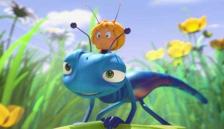 L'ape Maia - Le Olimpiadi del Miele credits Koch Media