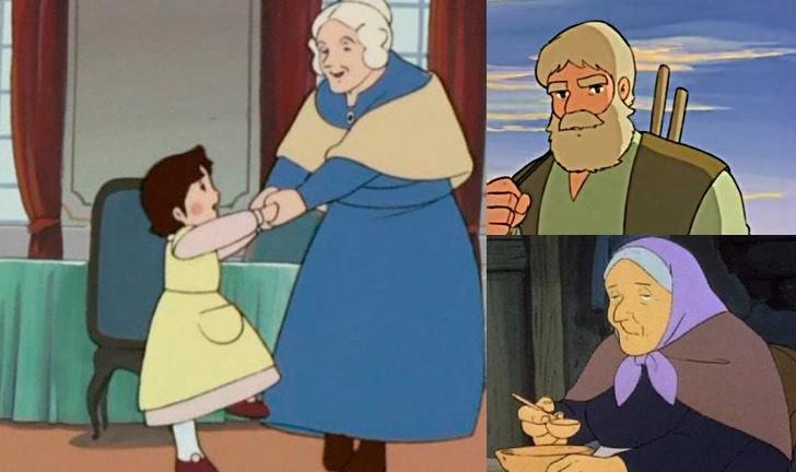 Le migliori immagini su heidi del cartoni animati