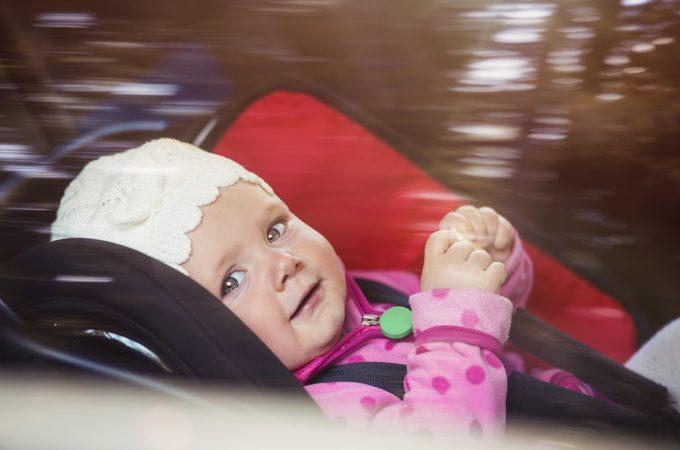posto più sicuro bambino trasporto in auto