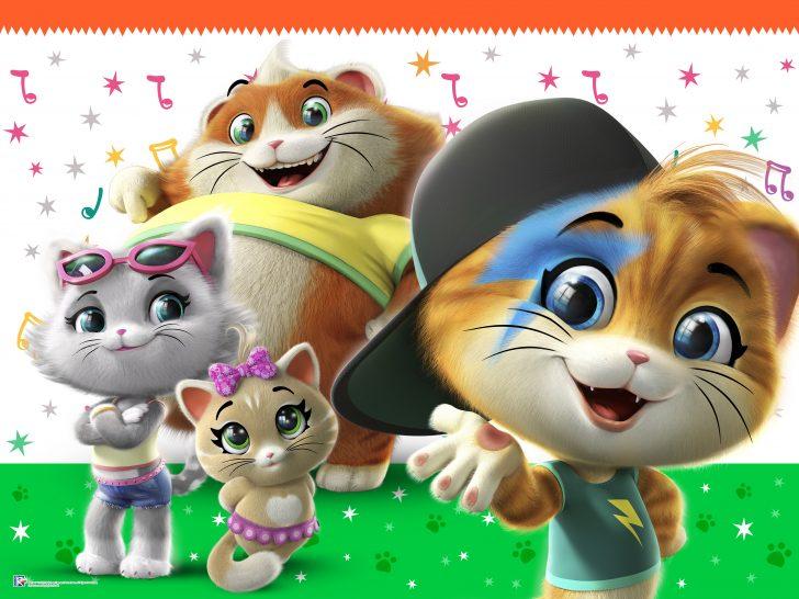 44 gatti serie tv: orari e dvd