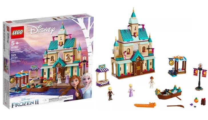 Il villaggio del Castello di Arendelle lego disney frozen.001