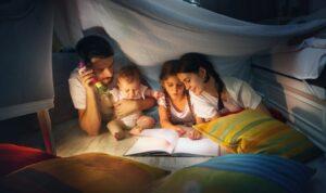 leggere con i figli