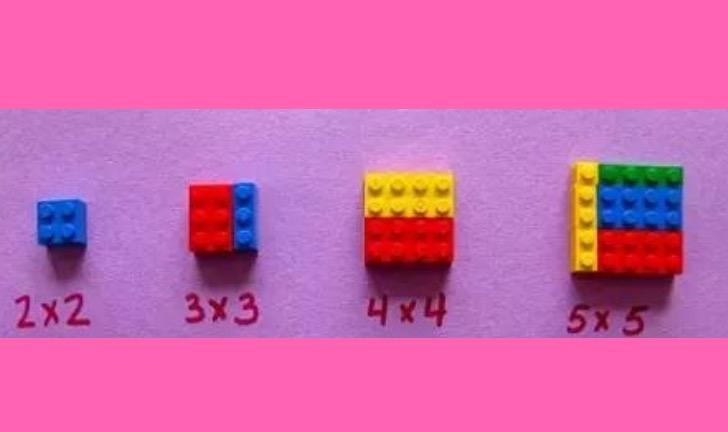 Le tabelline con i lego