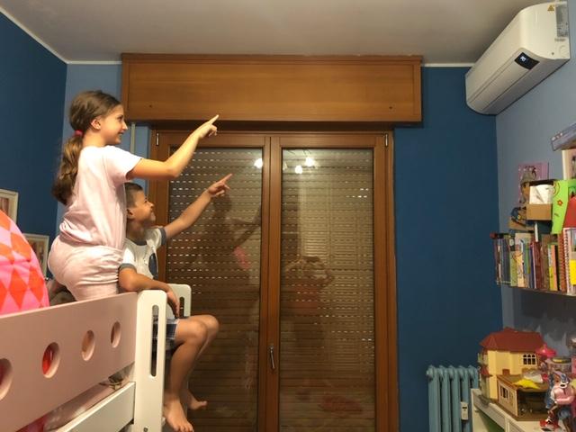 aria condizionata e bambini